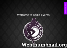 Site de Radio Events