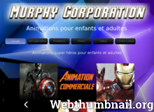 Détails : Animations super heros