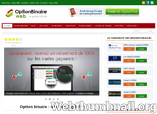 Option Binaire Web