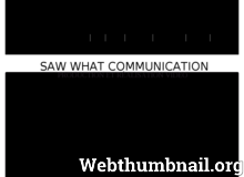 Détails : Saw What Communication